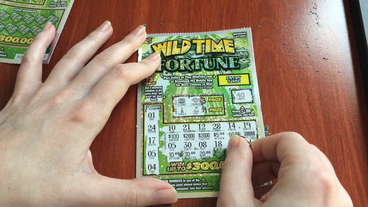 New $5 Wild Time Fortune - ScratchTicketsHere - 3/11/17