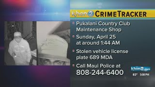Maui police search for 2 men suspected of burglary