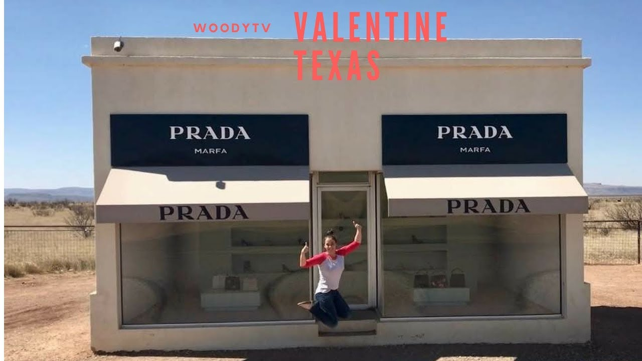 Valentine TX Amp Prada Storein The Middle Of The West