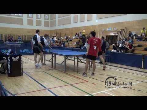 Chen Hong Tao James Pintea vs Pierre Luc THERIAULT   Xavier THERIEN    BUTTERFLY CANADIAN CHAMPIONSH