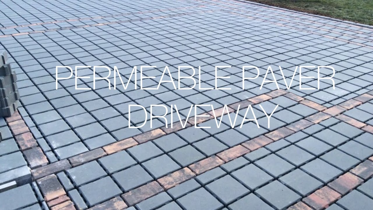 How to Install a Permeable Pavers Driveway Hardscape Hanover PA