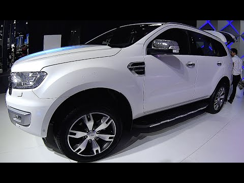 New video review Ford Everest Titanium 2016, 2017 interior, exterior