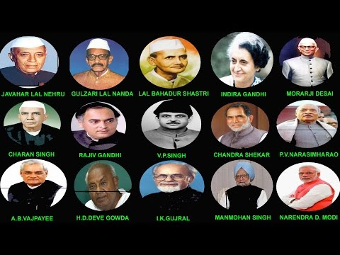 INDIAN PRIME MINISTERS DETAILS (1947-2014)