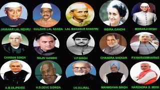 INDIAN PRIME MINISTERS DETAILS (1947-2014) || भारत के प्रधान मंत्री (1947-2014) thumbnail