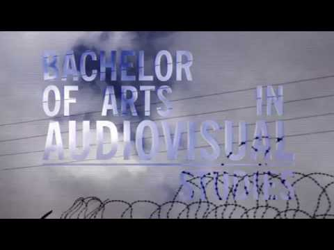 Bachelor of Arts in Audiovisual Studies