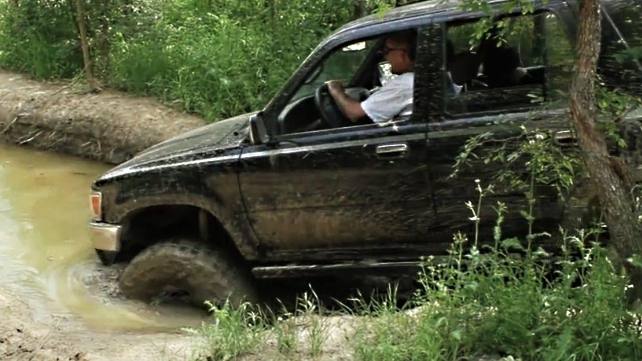 Про джип как они ездят по грязи