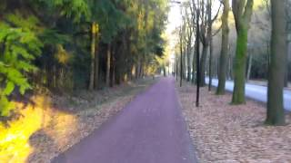Efficient cycling through design: Non-stop bicycle ride from village to city centre