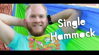 Grand Trunk Single Parachute Hammock w/ Trunk Straps