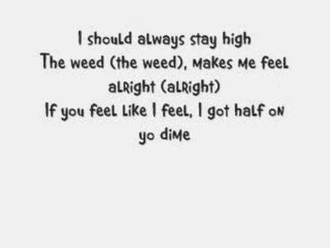 WEED SONG WITH LYRICS