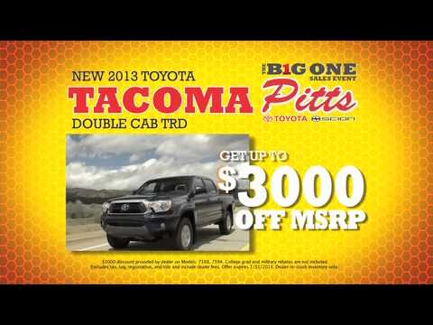 Pitts Toyota Scion The Big One