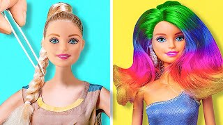 36 BARBIE DOLL CRAFTS THAT WILL MAKE YOU SO HAPPY