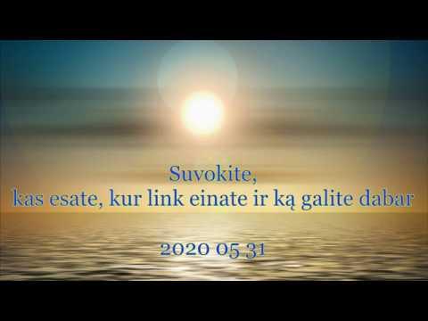 2020 05 31 Elohimė Anastasija: Suvokite, kas esate, kur link einate ir ką galite dabar...