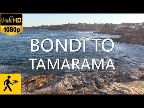 Bondi Beach to Tamarama Beach | Coastal Walk | Virtual Walking Tour