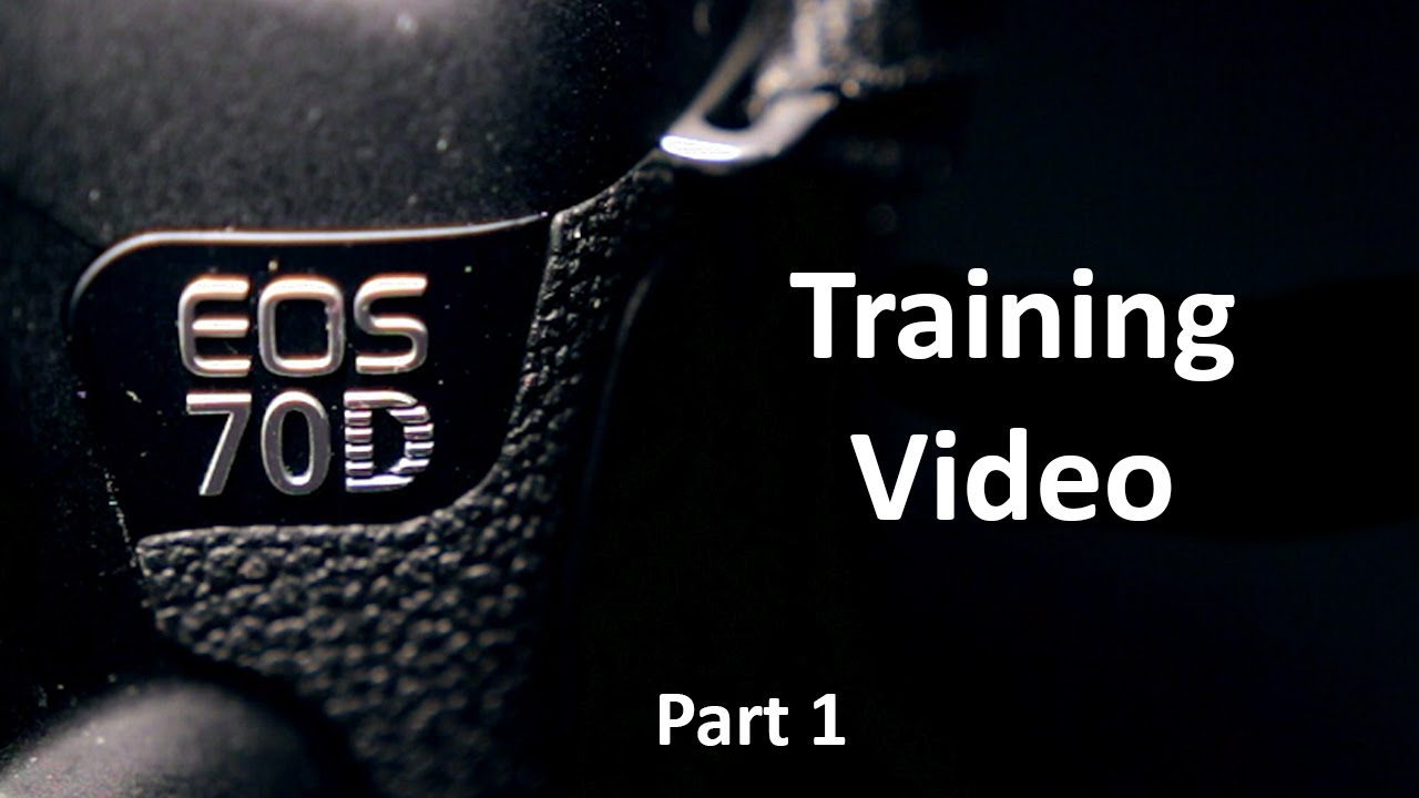 EOS 70D Training Video: Part 1 - Camera Hardware