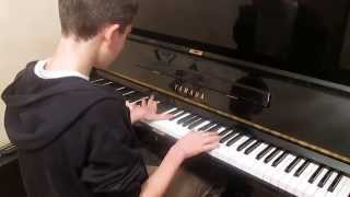 My heart will go on Celine Dion Titanic theme song Piano cover