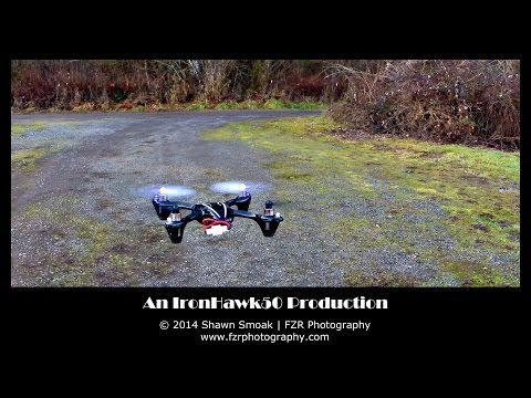 Quadcopter Practice Flight! - Hubsan X4 H107L!  | Hobbies