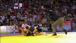Japan vs China - Wrestling - Women's 55KG Freestyle - Beijing 2008 Summer Olympic Games