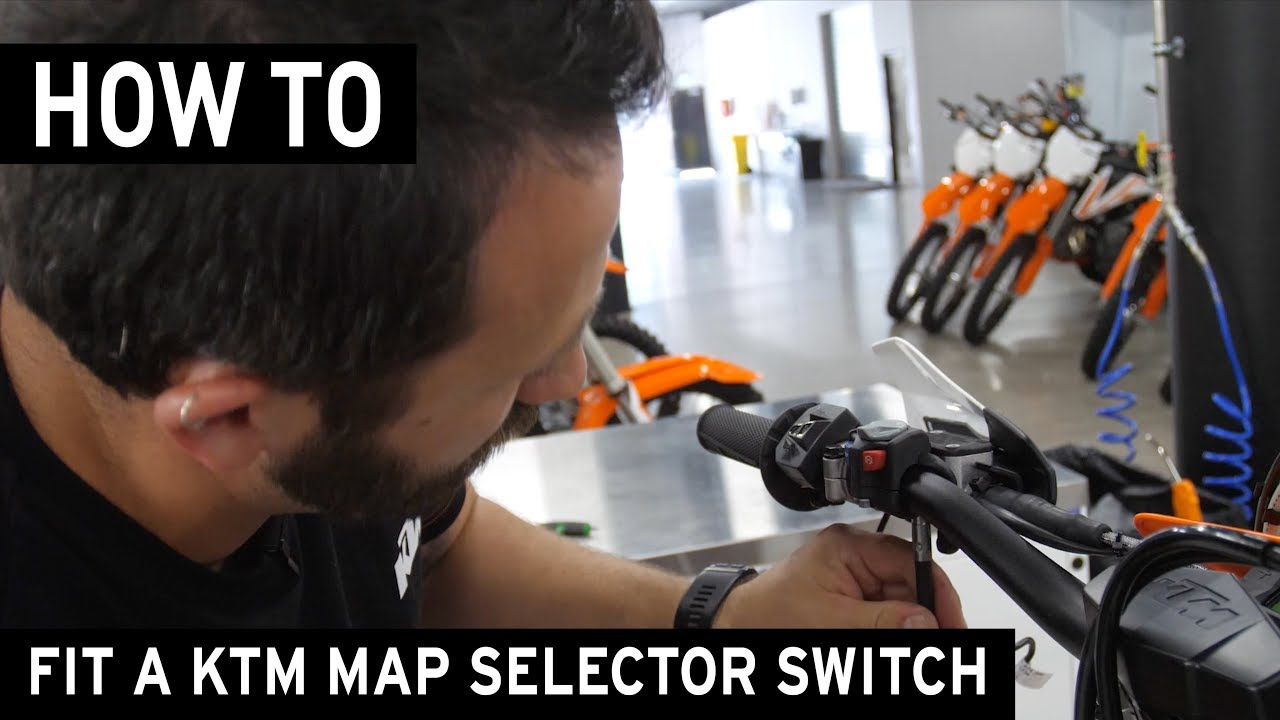 How To Fit A Ktm Map Selector Traction Control Switch Youtube 2005 450 Mxc Wire Diagram