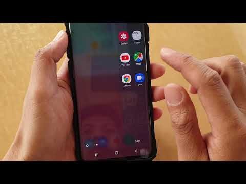 Galaxy S10 / S10+: Create Shortcut To Record Voice Audio Immediately