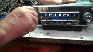1962 Chrysler AM foot control radio