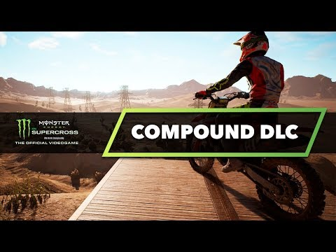 New Compound DLC - Monster Energy Supercross The Game - Freestyle Ramps?
