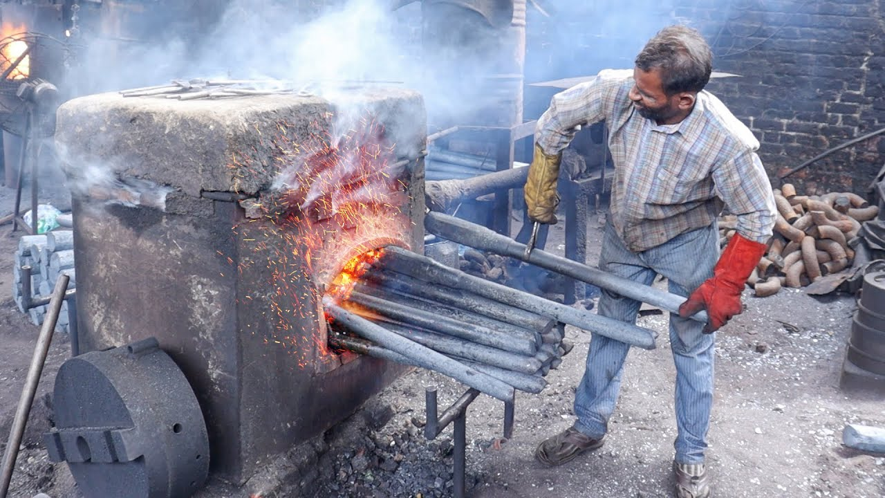 Most Incredible 8x8 Truck Axle Forging Process