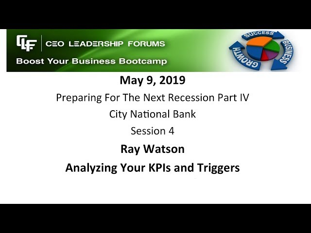 2019 05 09 CEO Leadership Session 04 Watson