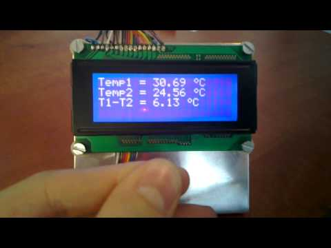 arduino with dual ds18s20 youtube rh youtube com Raspberry Pi GPIO Portable Air Conditioners