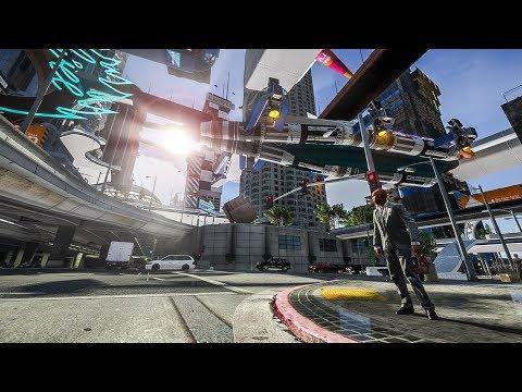 GTA 5: A Walk Into The Future | NaturalVision ✪ Remastered + CyberPunk Mod