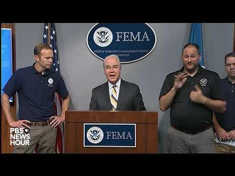 Sec. Price, FEMA officials brief about Hurricane Irma
