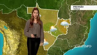 Previsão Centro-Oeste - Mais nuvens em Brasília e Goiânia
