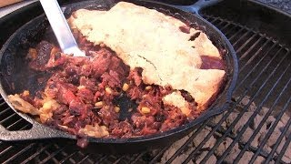 Meat And Bean Pit Pie By The Bbq Pit Boys
