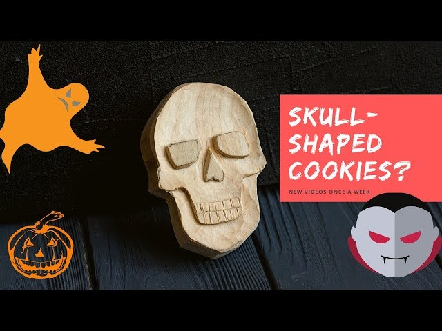 Carving a Skull Out of Wood I Easy Wood Carving for Beginners