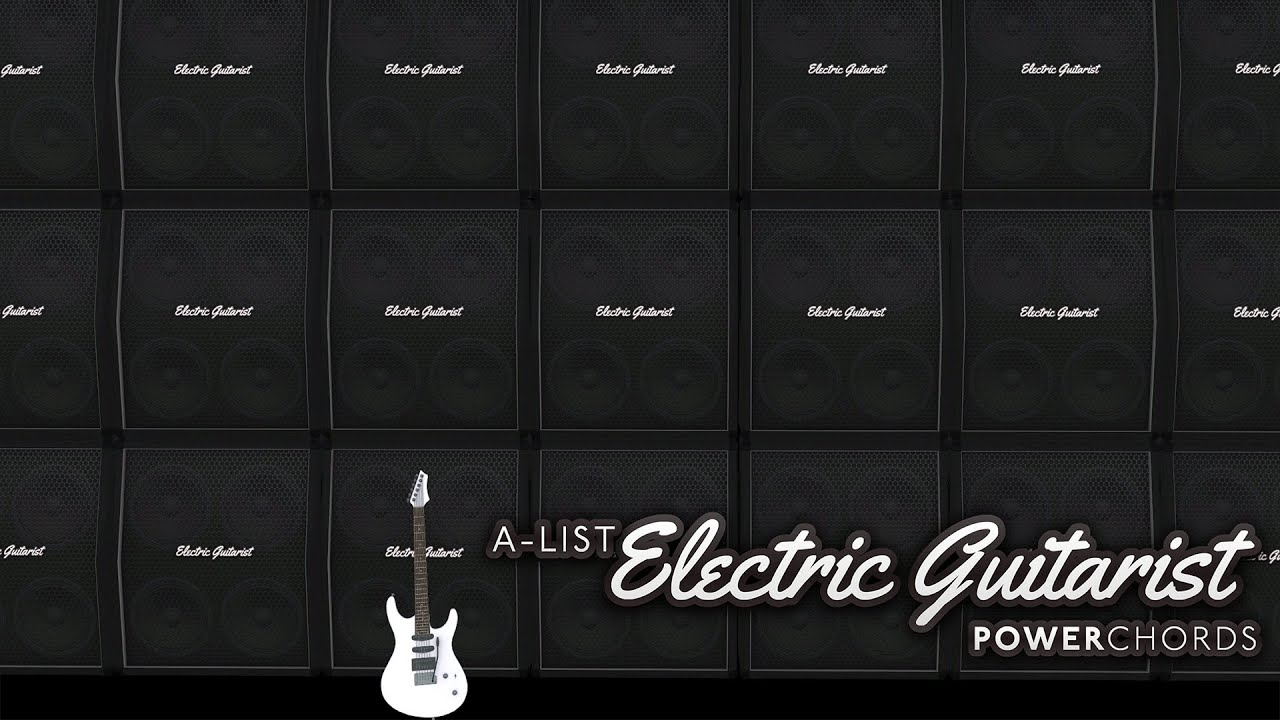 a list electric guitarist power chords youtube. Black Bedroom Furniture Sets. Home Design Ideas