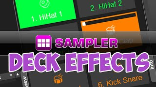 Sampler Deck Effects - VirtualDJ 8