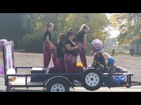 2020 homecoming parade Wendell High School ID