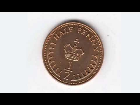 UK 1983 HALF PENNY Coin VALUE + REVIEW