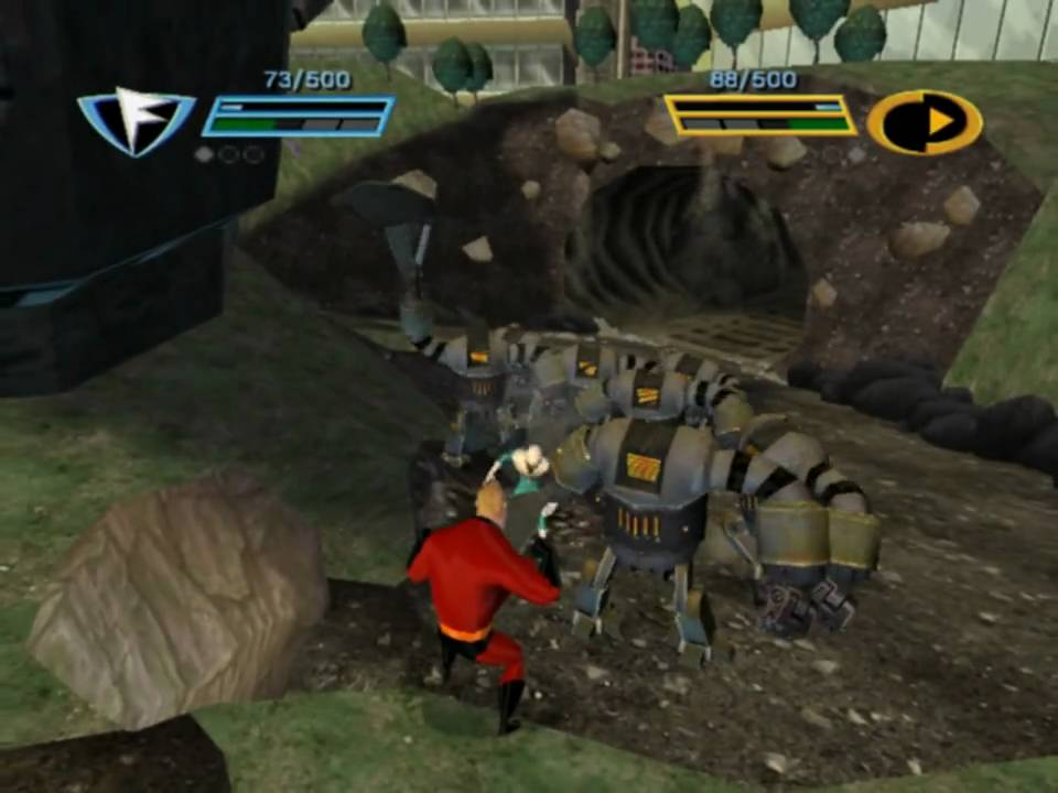 Incredibles, the: rise of the underminer download (2005 arcade.