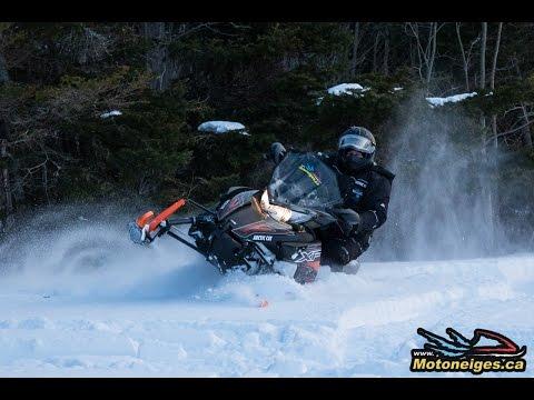Présentation de la motoneige Arctic Cat XF CrossTrek 6000 2016