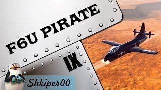 world of warplanes первый взгляд f6u pirate 1080p