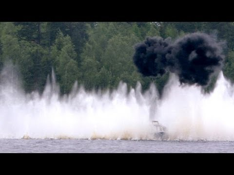 Big Navy Gun Blasts Boats- Future Weapons