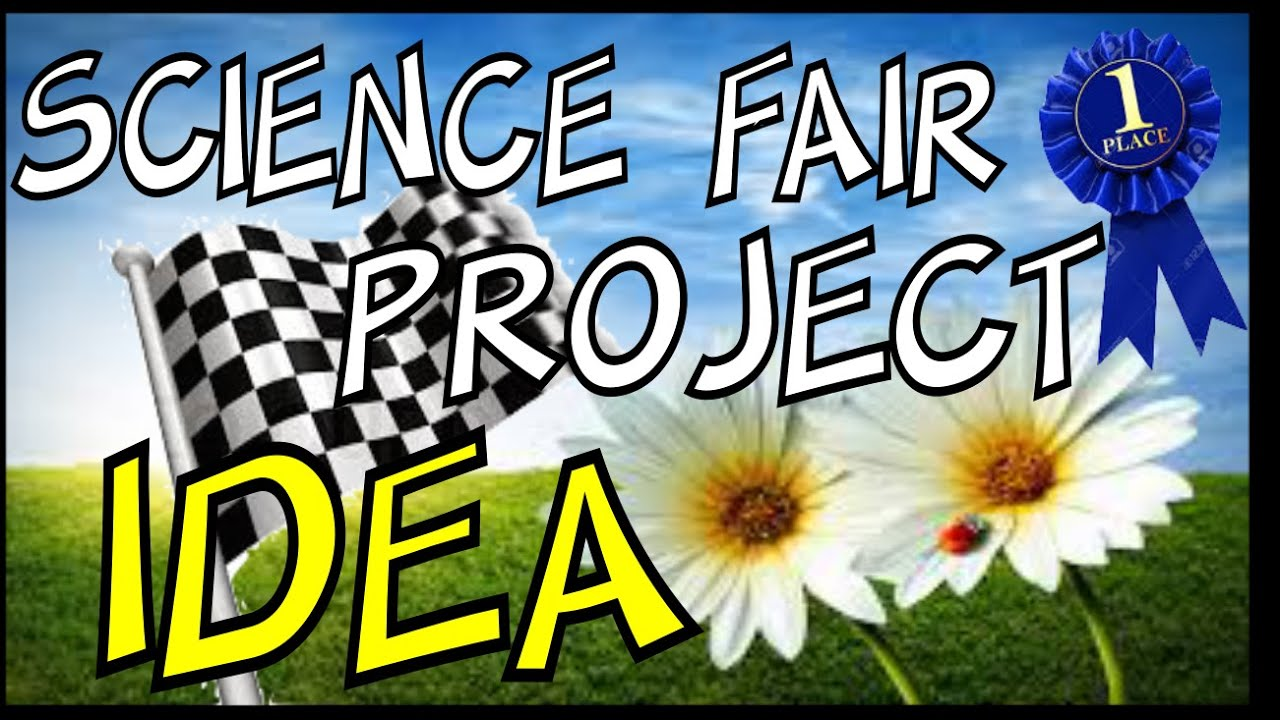 Quick Science Fair Project Flowers Youtube