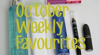 Oct. 2014 Weekly Favourites ft. Clinique Sonic Brush Thumbnail