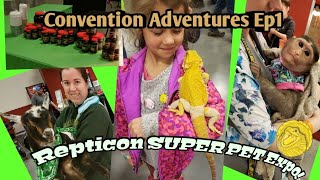 SUPER PET EXPO Chantilly/Dulles 2019-CONVENTION ADVENTURES. EP.1