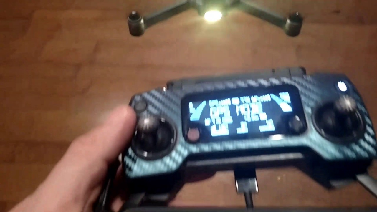 Red/yellow lights after firmware dji mavic pro issue