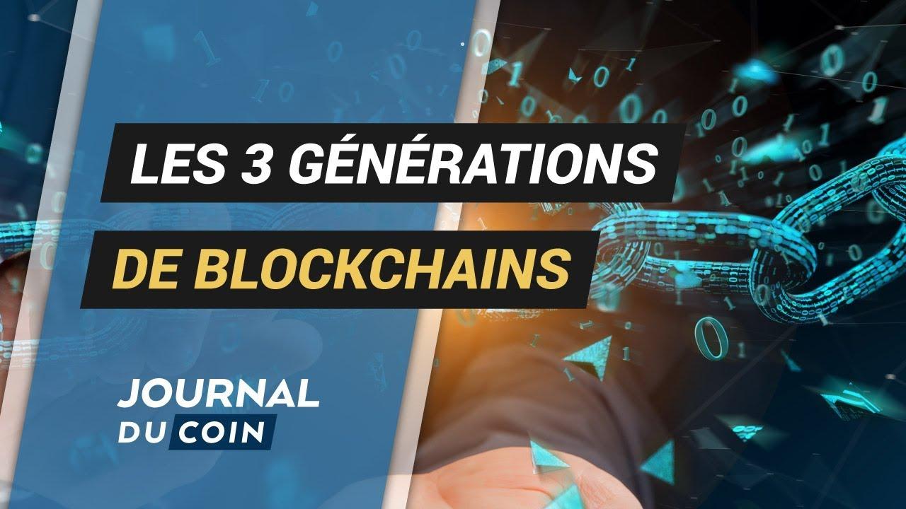 LES 3 GÉNÉRATIONS DE BLOCKCHAINS #Bitcoin #Ethereum #Cardano