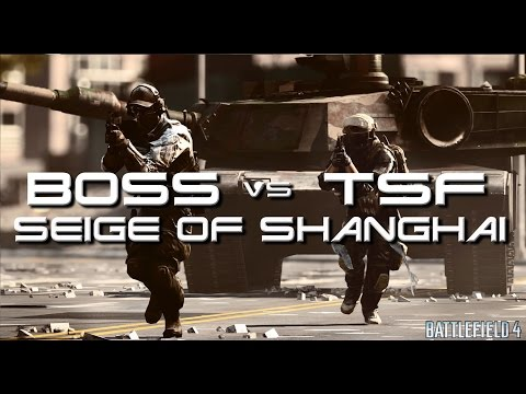 BOSS vs TSF Seige of Shanghai 2016