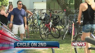 Inaugural Cycle on 2nd Street Community Bike Ride