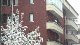 2012-01-27 Ankara'da Kar Yağıyor