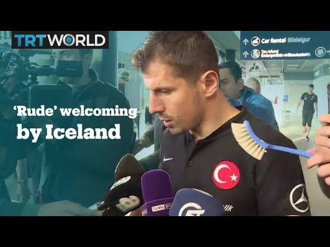Turkey condemns treatment of footballers at Iceland airport